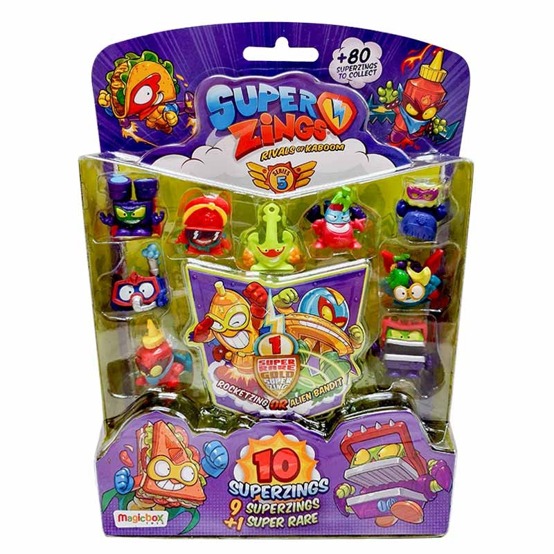 Superzings S5 10 figuras blister 2