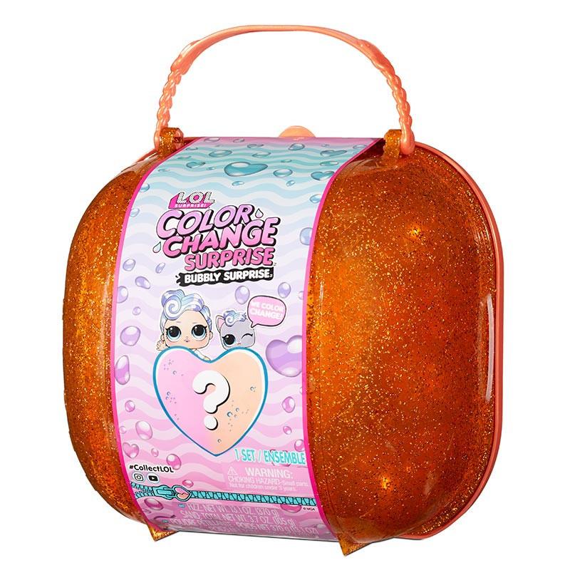 LOL Surprise Color Change bolso bubbly naranja