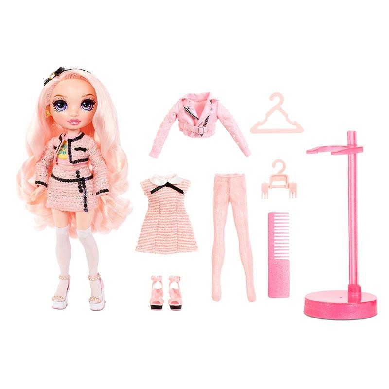 Rainbow High muñeca serie 2 Bella Parker rosa