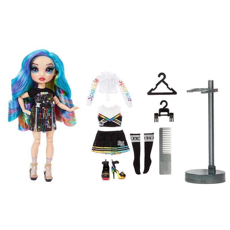 Rainbow High muñeca serie 2 Amaya Raine azul