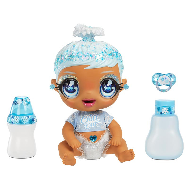 Glitter Babyz Snowflake azul