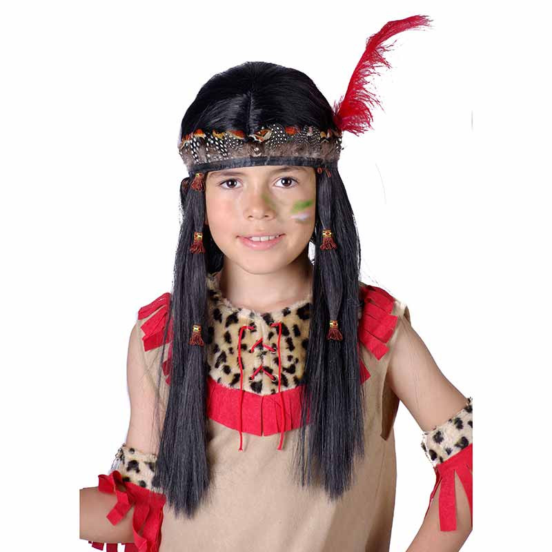 Peluca Indio inf Carnaval