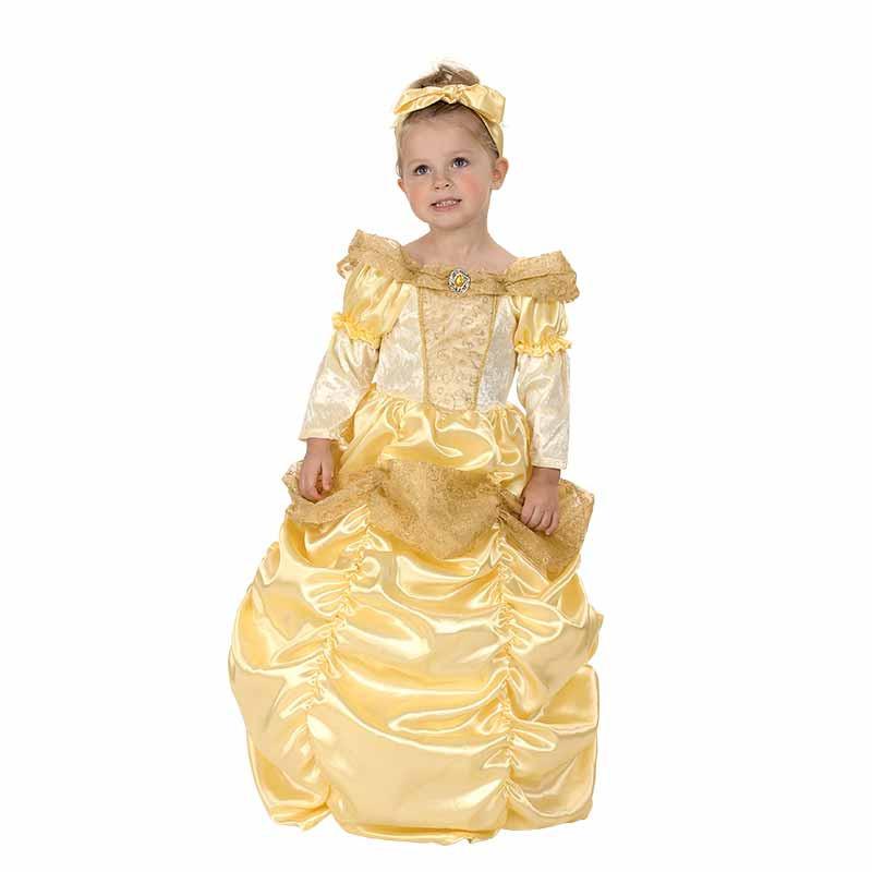Disfraz Princesa Dorada Bebé