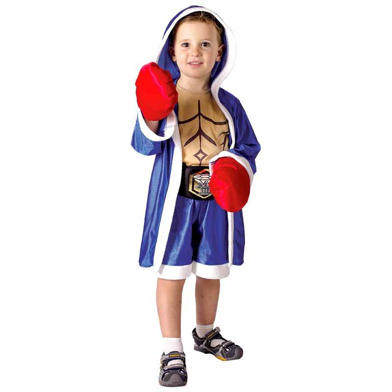 Disfraz Pequeño Boxeador Bebe