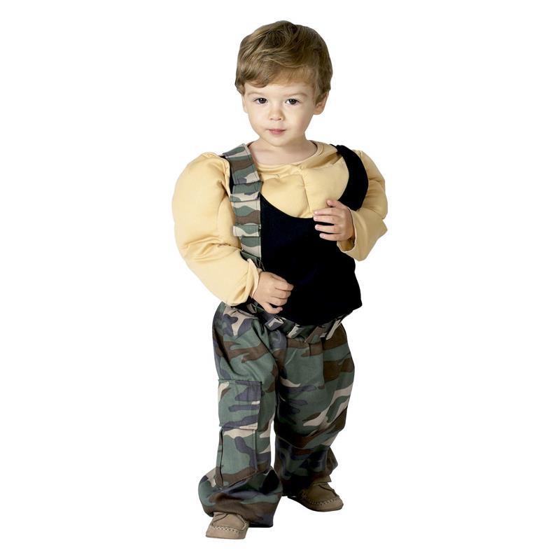 Disfraz Luchador musculosos para bebé