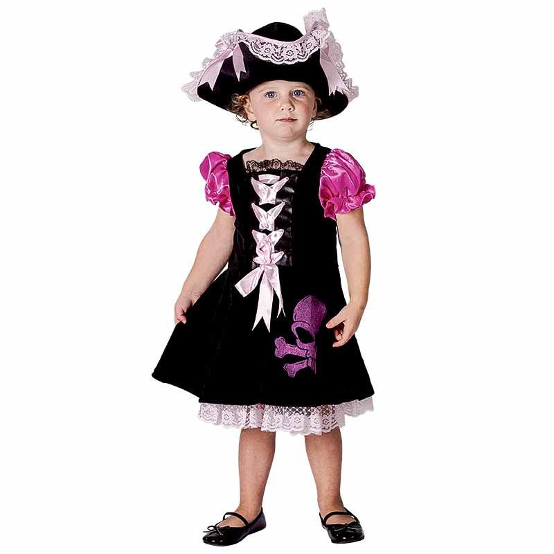 Disfraz Pirata Bebe Luxe Niña
