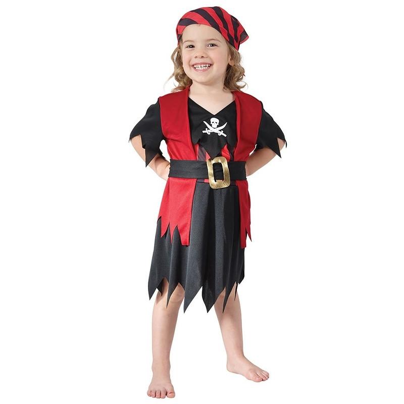Disfraz pirata niña para bebé