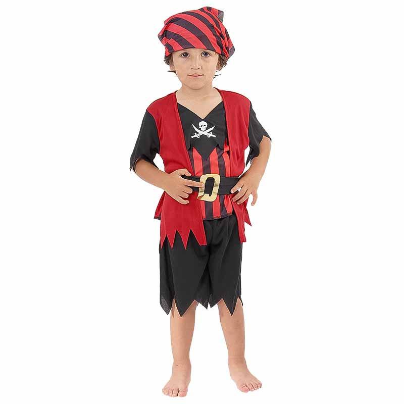 Disfraz Pirata Bebe Luxe Niño