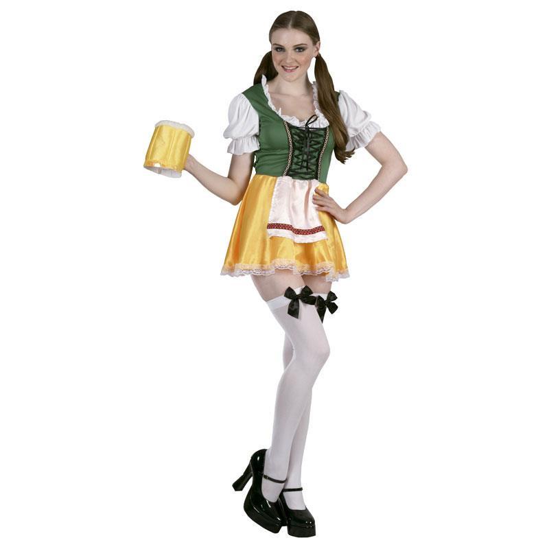 Disfraz Chica Bávara Adulto T/U