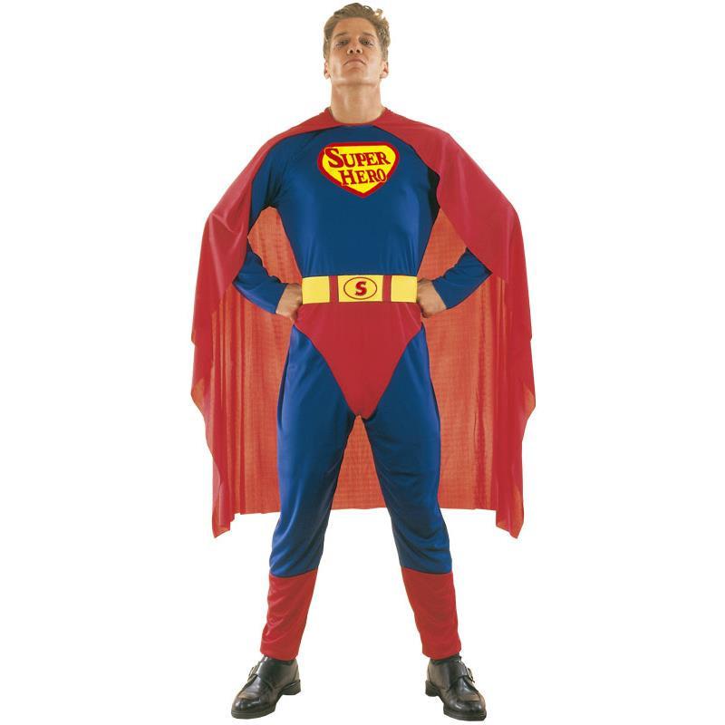 Disfraz Hombre Super Heroe Adulto T/U