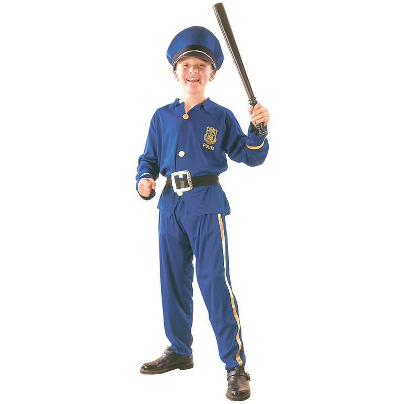 Disfraz policía niño Infantil