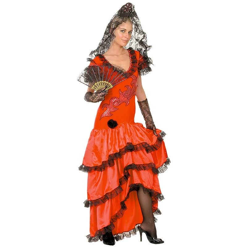 Disfraz Sevillana Adulto