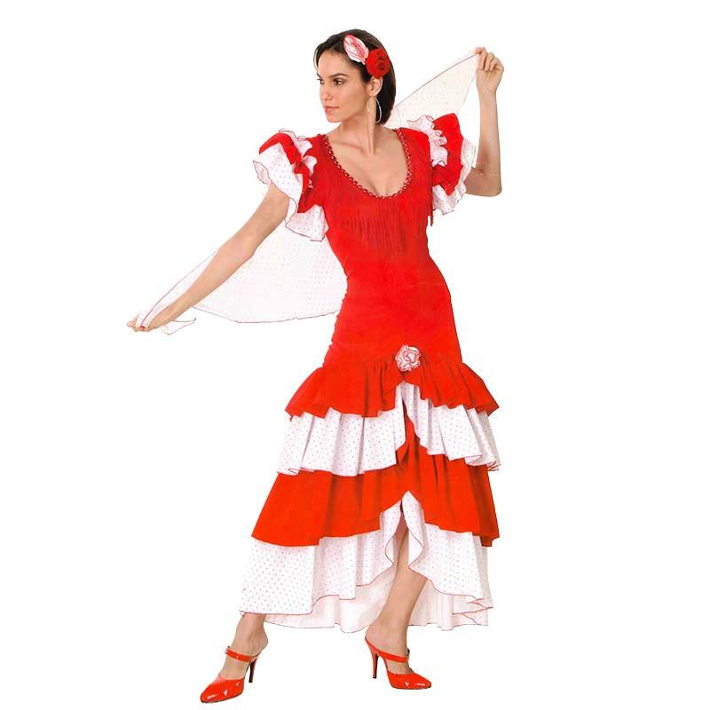 Disfraz Carnaval Bailarina de Flamenco