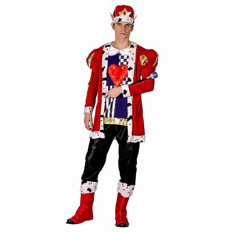 Disfraz Rey de Corazones Adulto T/U