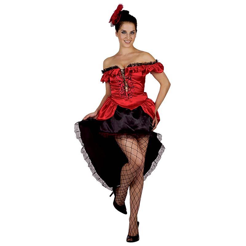 Disfraz Bailarina Can Can Adulto T/U