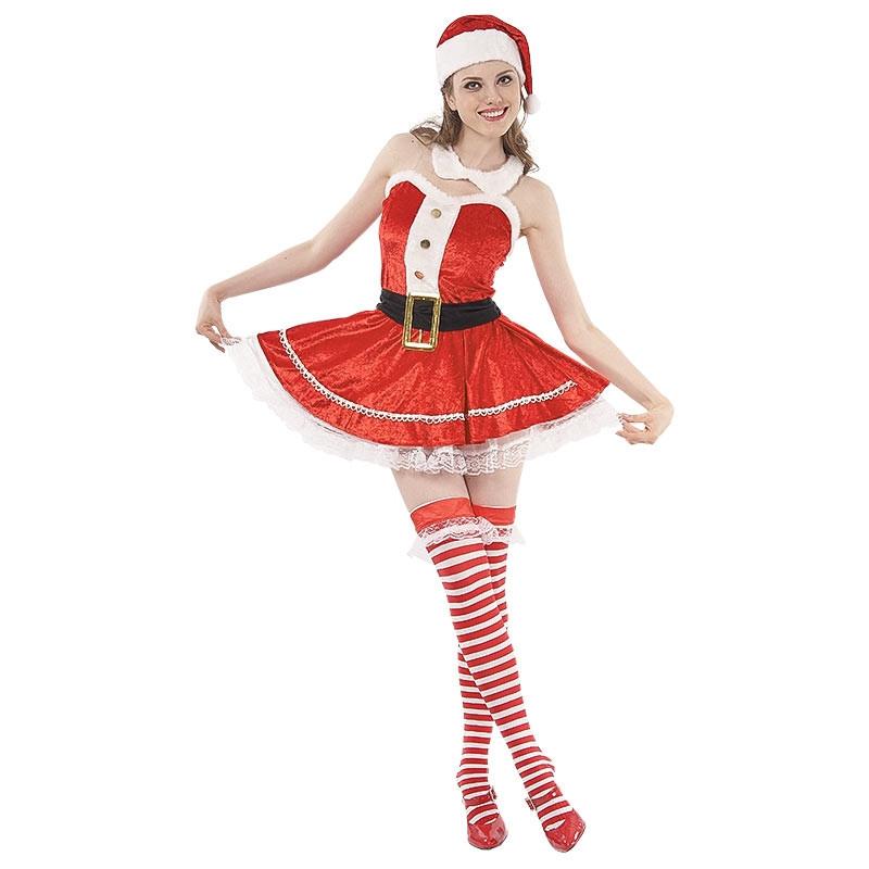 Disfraz Mamá Noel Adulto