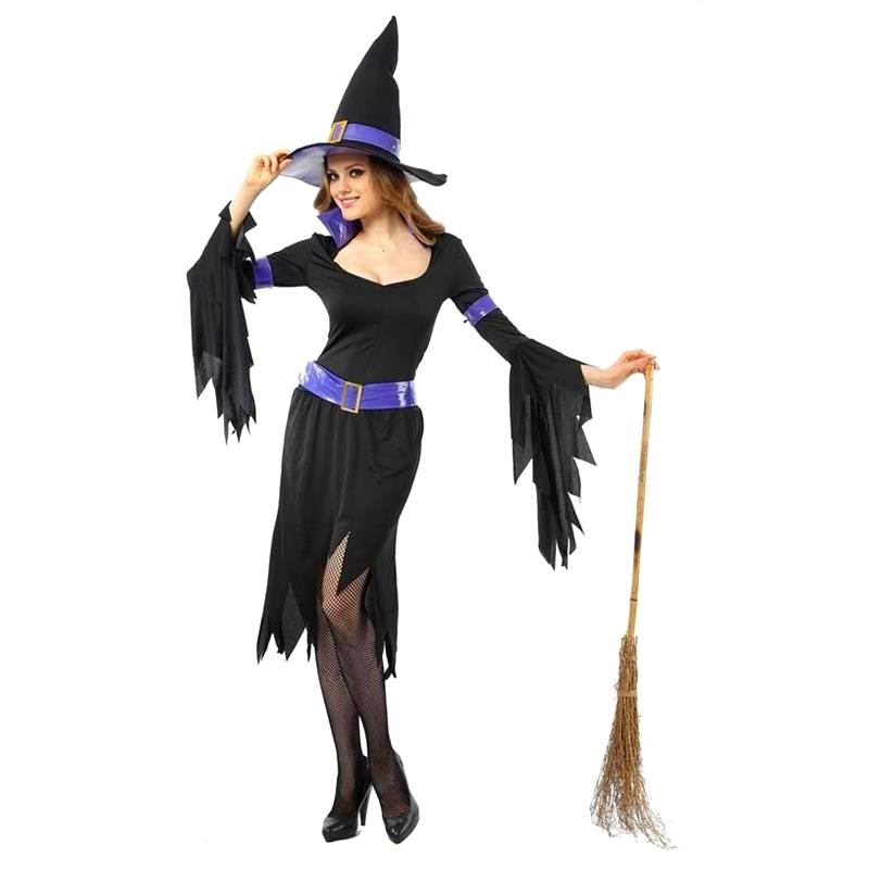 Disfraz Bruja Glamour Adulto Halloween