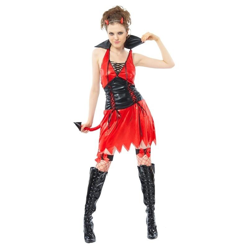 Disfraz Mujer Diablo Adulto