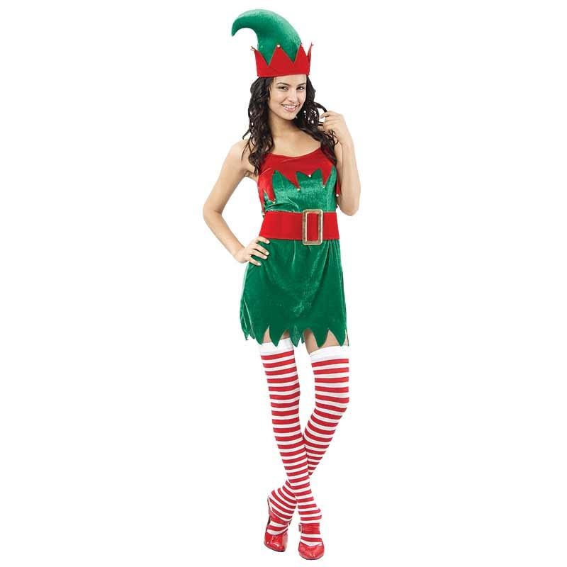 Disfraz Mujer Elfo Adulto T/U