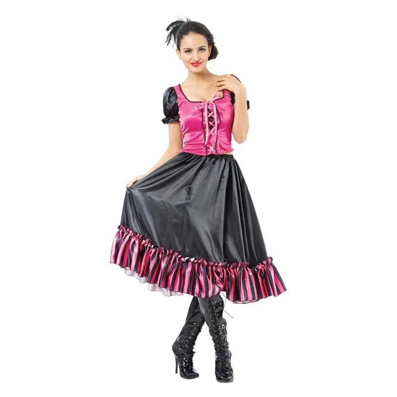 Disfraz bailarina saloon Adulto