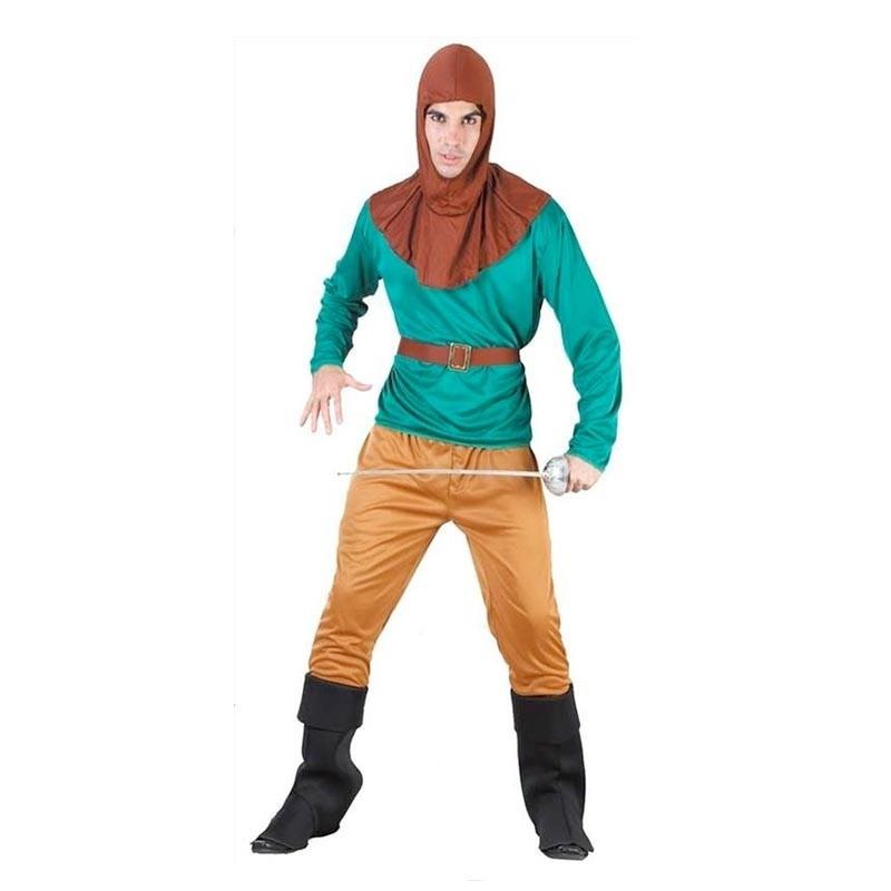 Disfraz héroe de los bosques Adulto