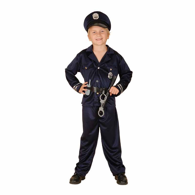 Disfraz  Policía con accesorios infantil