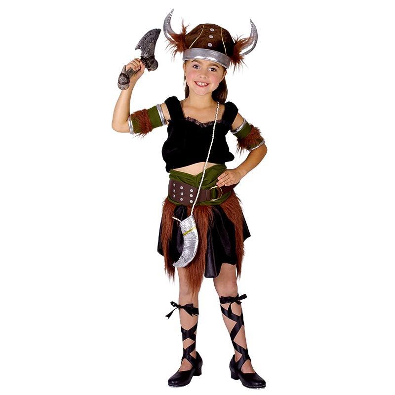 Disfraz Niña Vikinga Inf