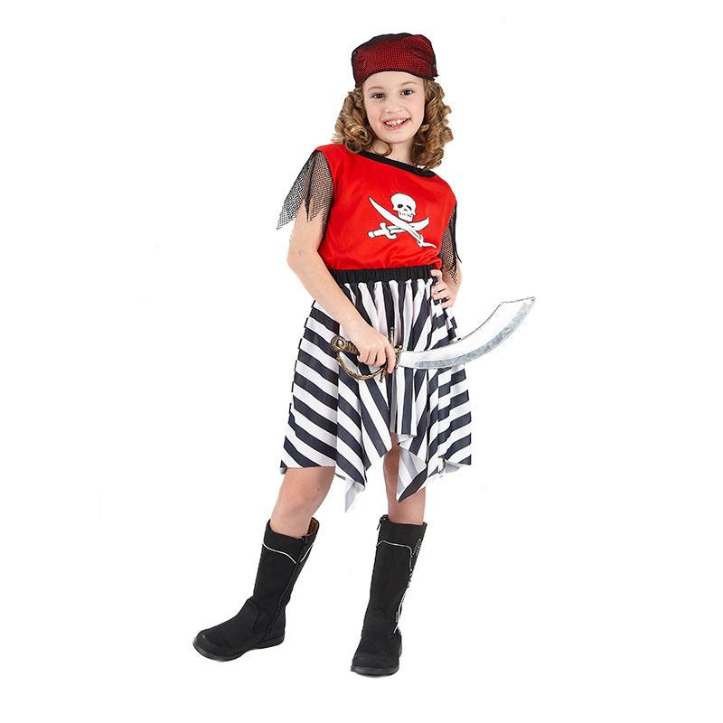 Disfraz Pirata Niña inf