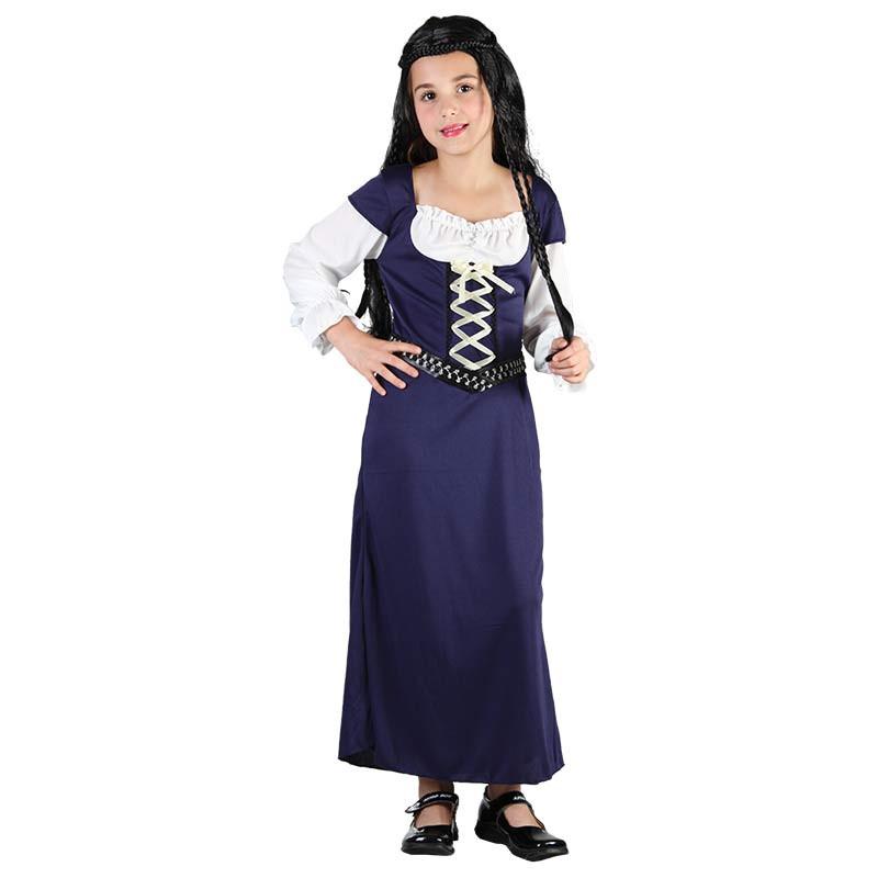 Disfraz Niña Medieval Inf