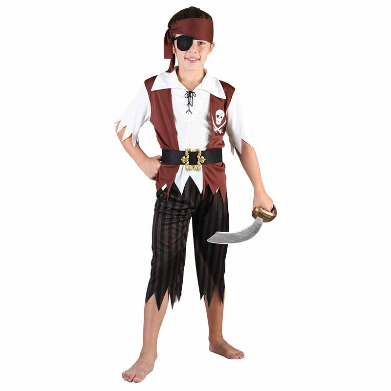 Disfraz Pirata Niño Inf