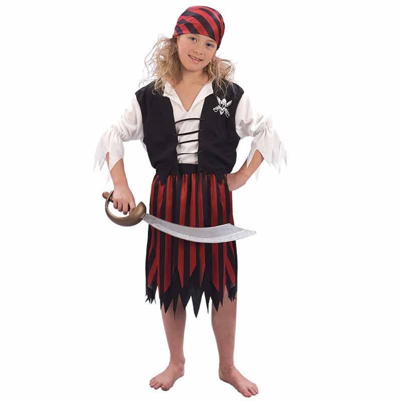 Disfraz Niña Pirata Inf