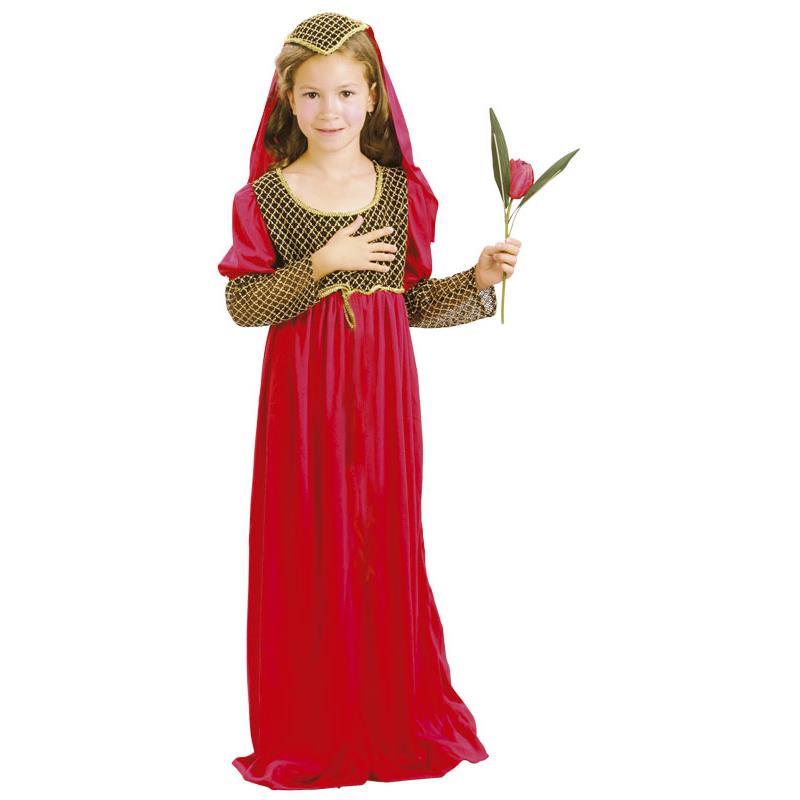 Disfraz Doncella Medieval Infantil