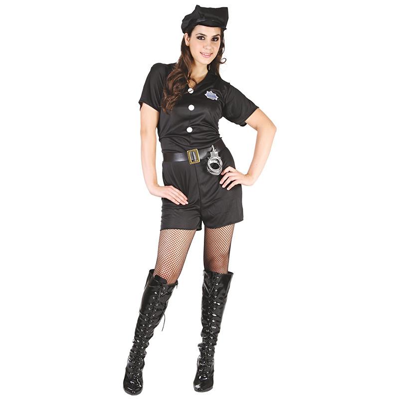 Disfraz Mujer Policía Adulto T/U