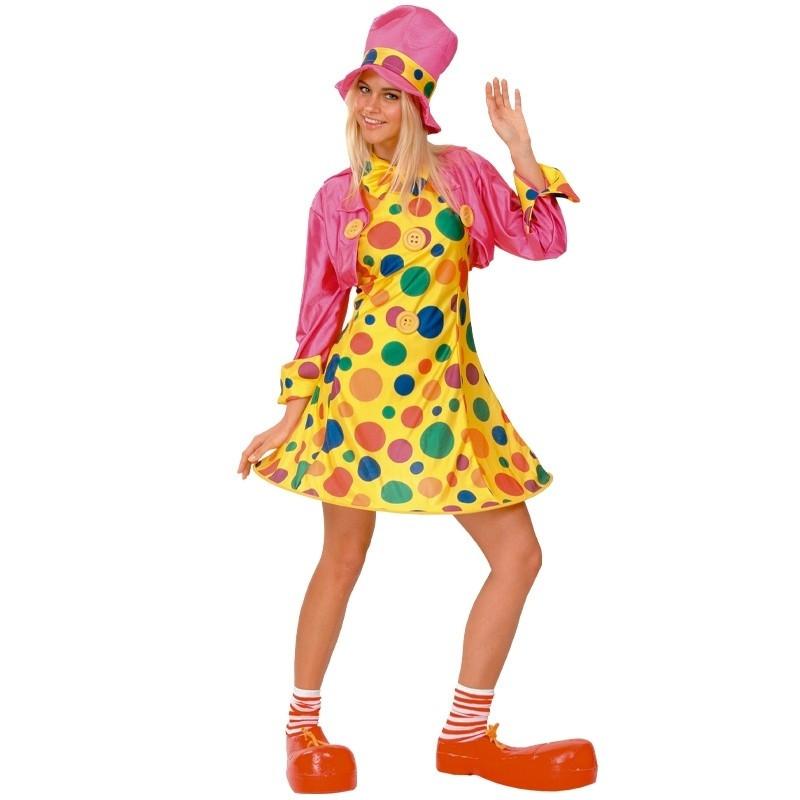 Disfraz Payaso Mujer Adulto
