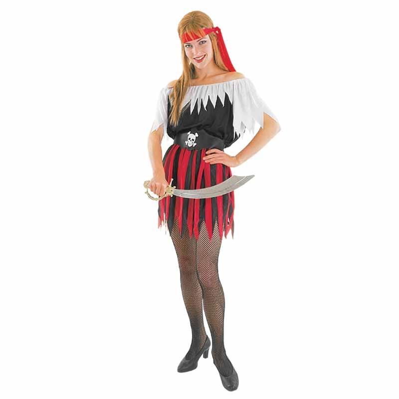 Disfraz mujer pirata Adulto