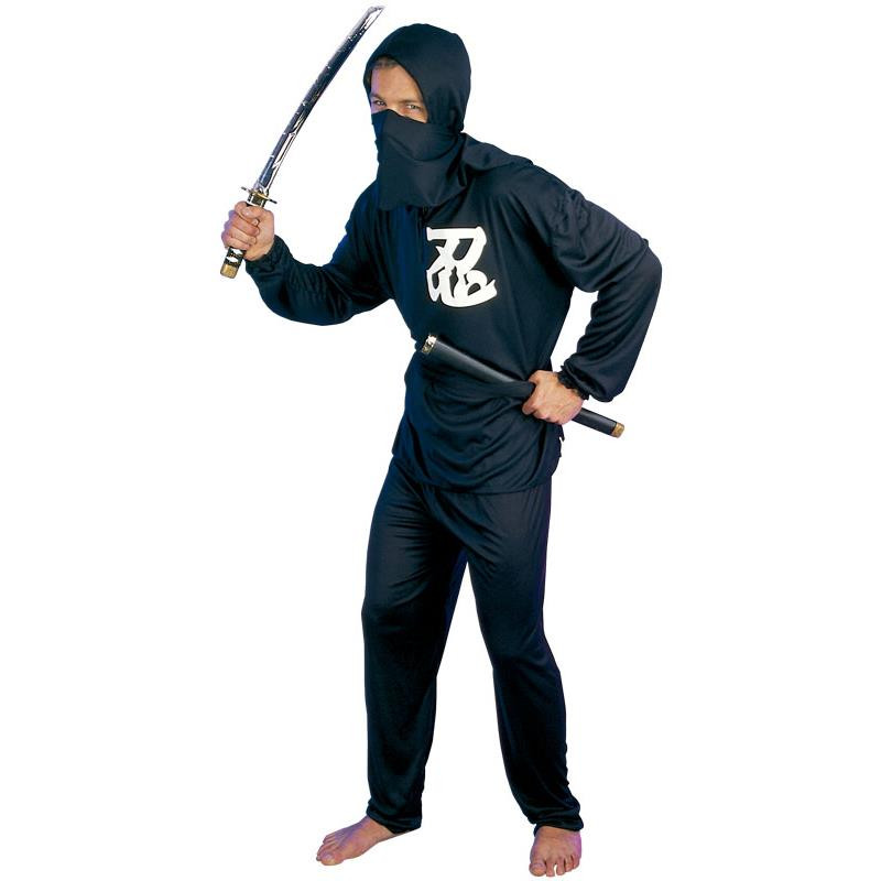 Disfraz Ninja Negro Adulto T/U