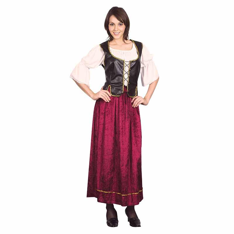 Disfraz Dama Medieval Adulto T/U