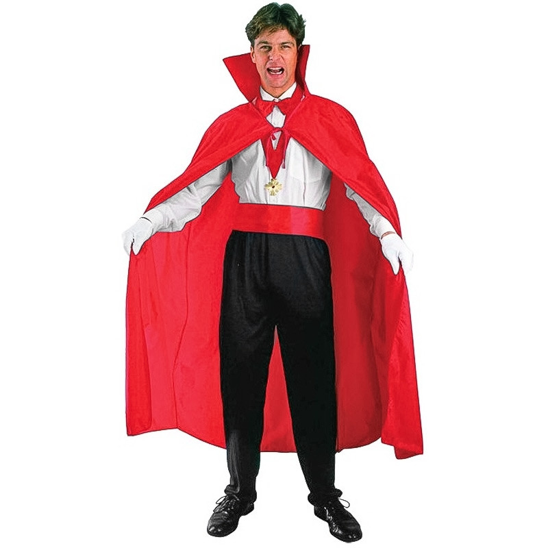 Capa Roja Adulto Halloween
