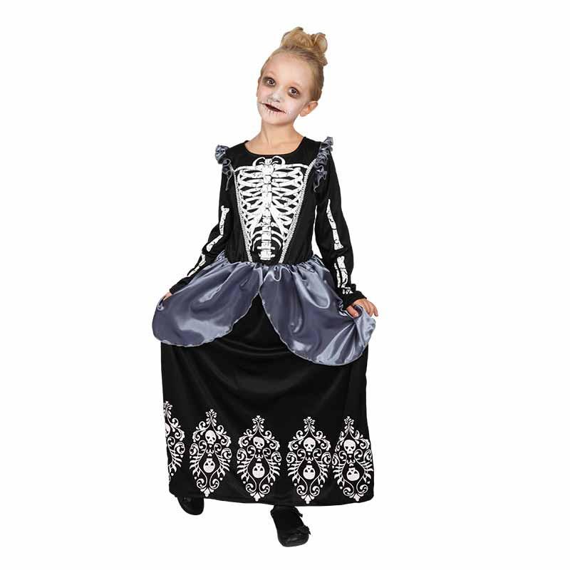 Disfraz Reina Esqueleto infantil