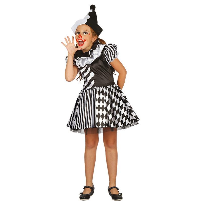 Disfraz Arlequín infantil para niña