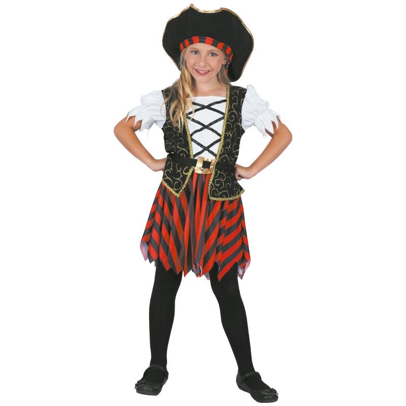 Disfraz Pirata Niña