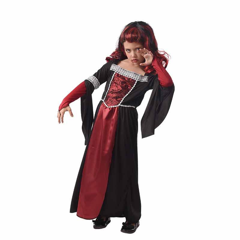 Disfraz Vampira Medieval infantil
