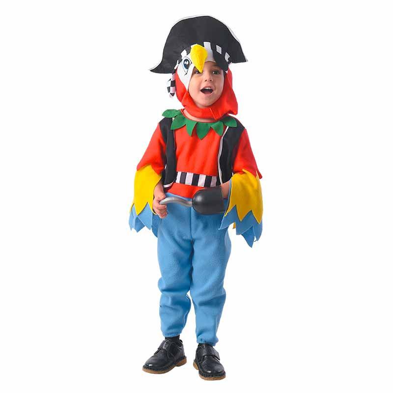 Disfraz Pirata papagayo Bebé
