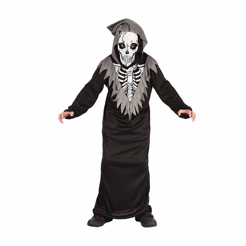 Disfraz Esqueleto con capucha infantil