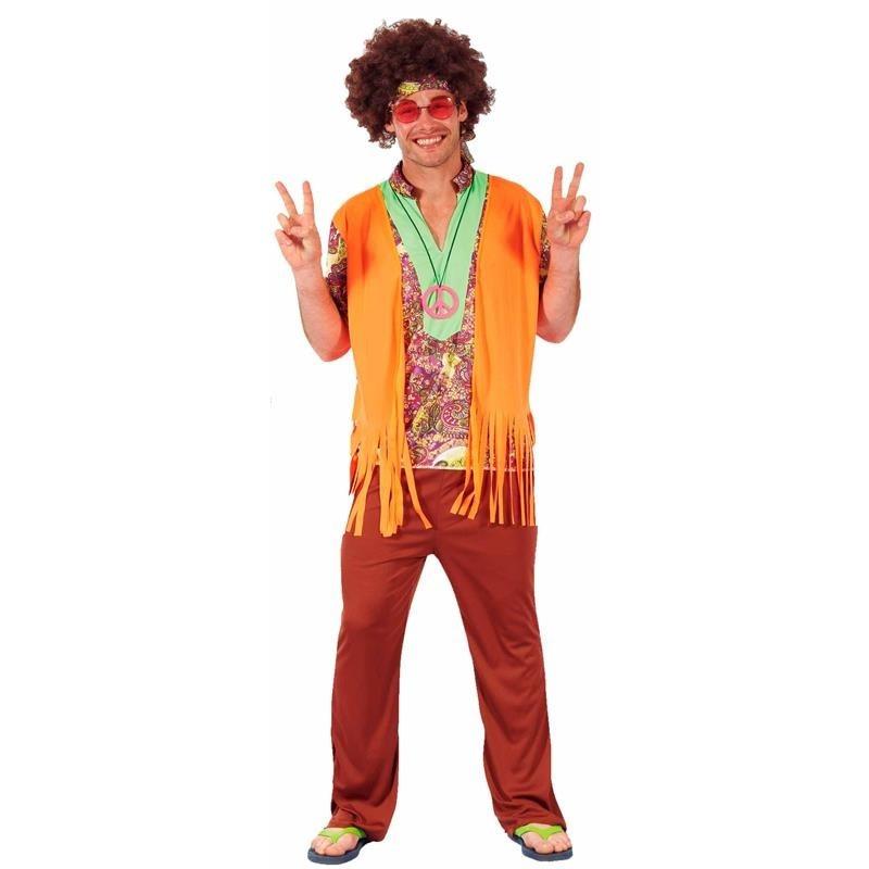 Disfraz hombre Hippie Adulto