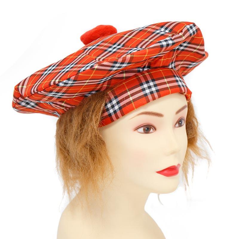 Gorro Escoces con pelo Carnaval