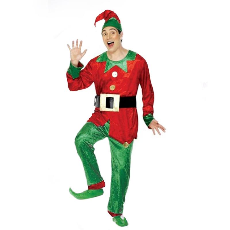 Disfraz Hombre Elfo Adulto T/U