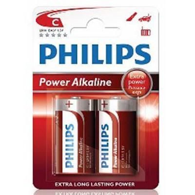 Lr14 Alkaline c Philips Blister 2
