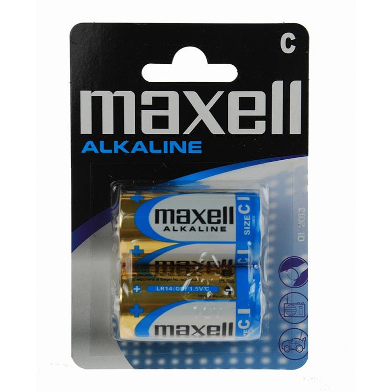 LR14 Alkaline C Maxell blister 2
