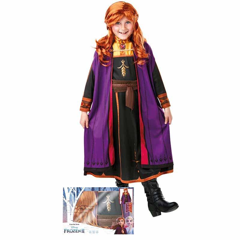 Disfraz Anna Con Peluca Frozen2 Caja Inf